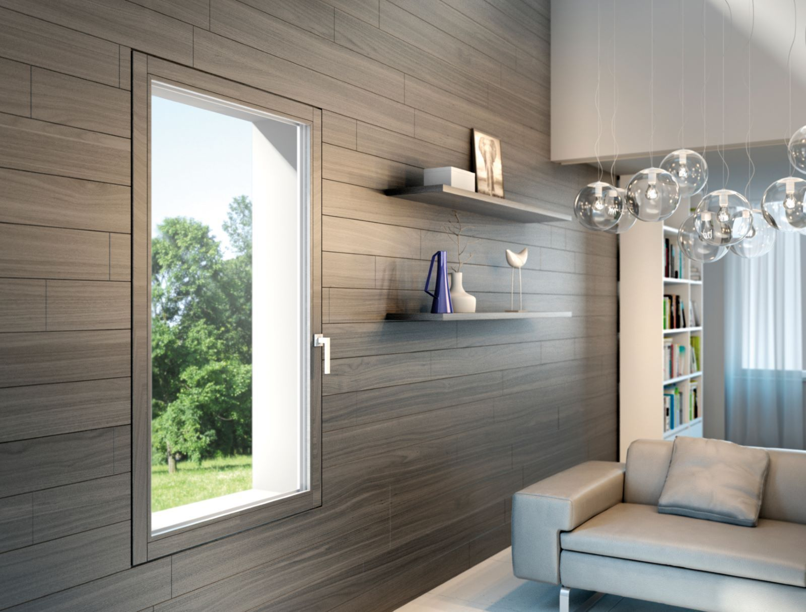 Finestre e porte finestre in legno alluminio infissi for Finestre infissi