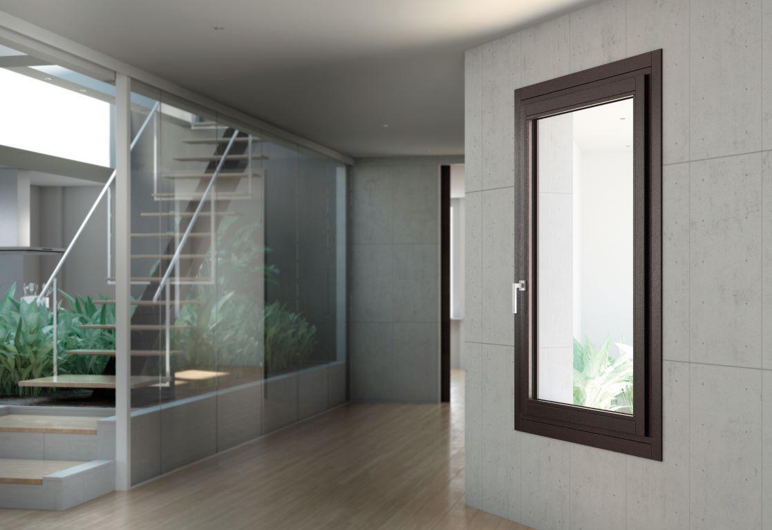 Finestre e porte finestre in legno alluminio infissi montagnana gonzatto serramenti - Porte e finestre in alluminio ...
