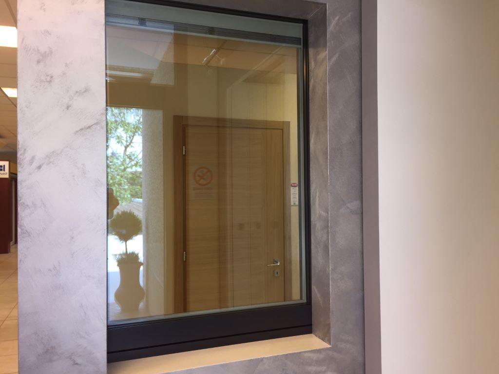 Finestre e porte finestre in legno alluminio infissi montagnana gonzatto serramenti - Finestre in alluminio e legno ...