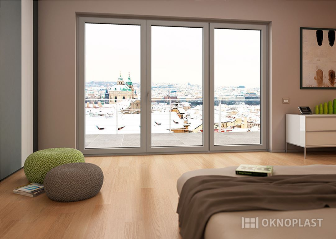 Finestre e porte finestre in pvc oknoplast infissi for Finestre in pvc